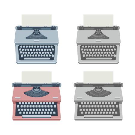 typewriter machine: typewriter Illustration
