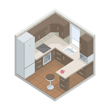 furnishing: keuken