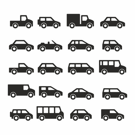 Cars icons Stock Vector - 30447528