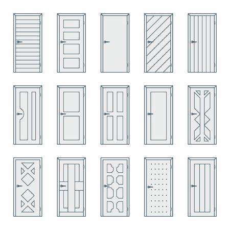 wooden doors: Doors