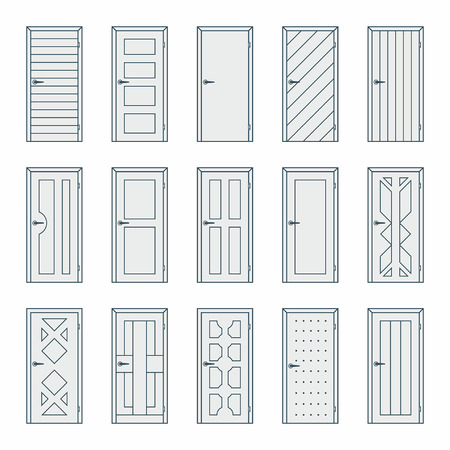 portone: Porte Vettoriali