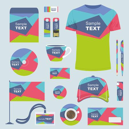 provexemplar: Stationery template design