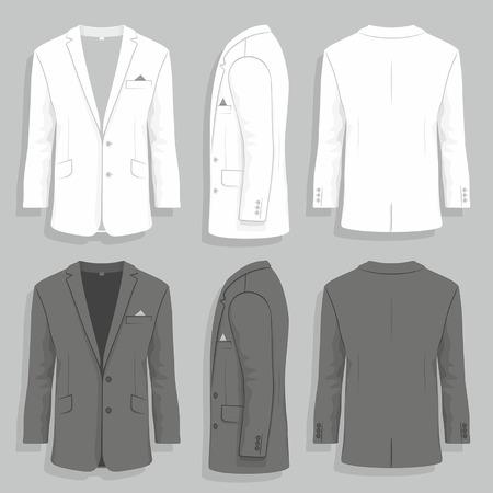 white coat: mens suit