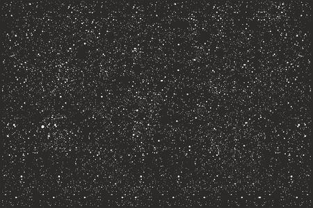 Nachtelijke hemel gevuld met sterren Stock Illustratie