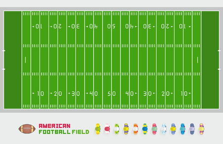 soccer field: American football field