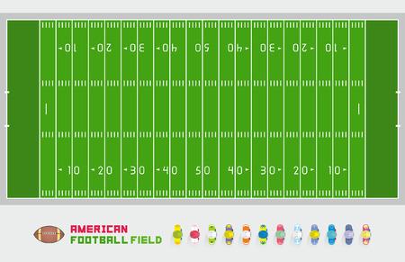 cancha de futbol: Campo de f�tbol americano