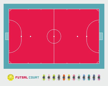 futsal: futsal court