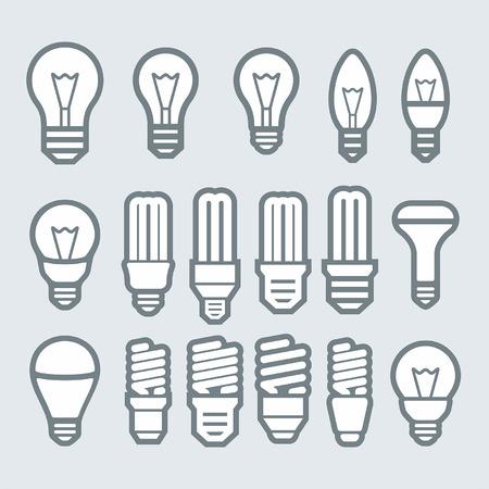 電球。電球のアイコンを設定