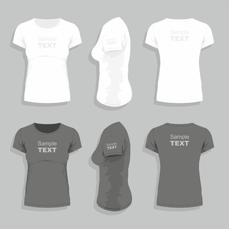 v neck: Womens  t-shirt