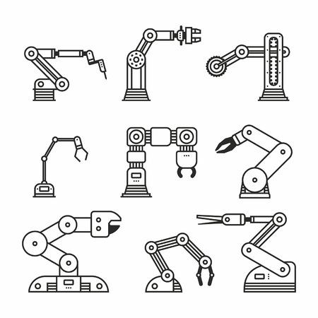 mano robotica: Brazo de robot industrial