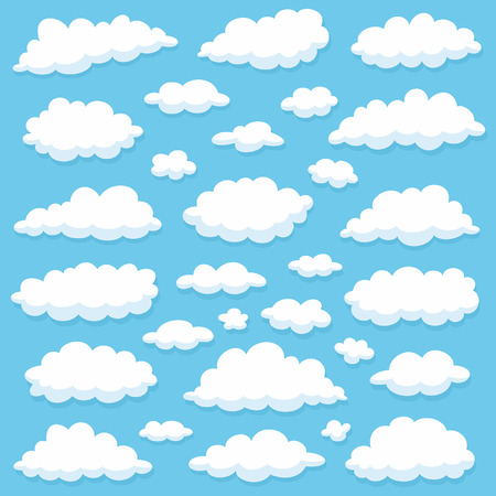 clouds Stock Vector - 41322579