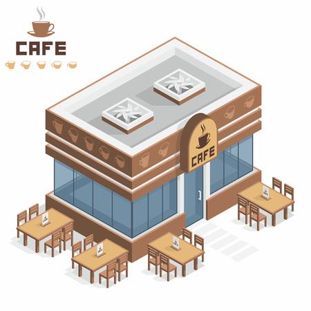 カフェの建物