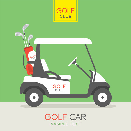 electric hole: golf car