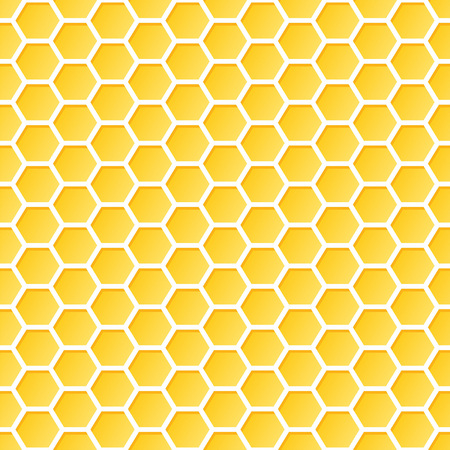 Seamless Honeycomb Pattern Ilustrace