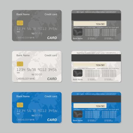 Kreditkarten werden