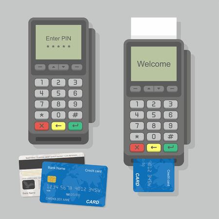 terminal: Payment Terminal Illustration