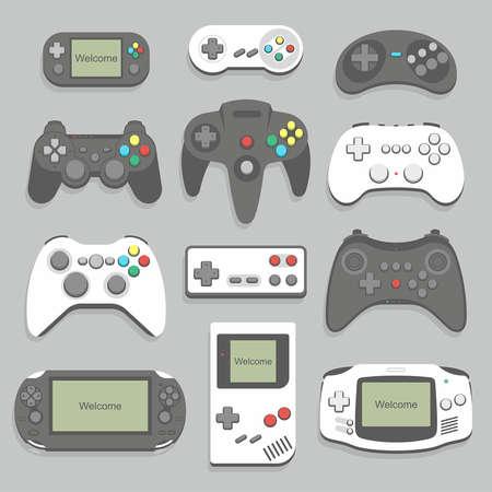 gamepad icon set