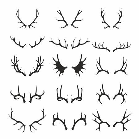 antlers: Deer antlers set