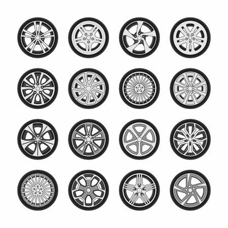 sports track: Wheel disks