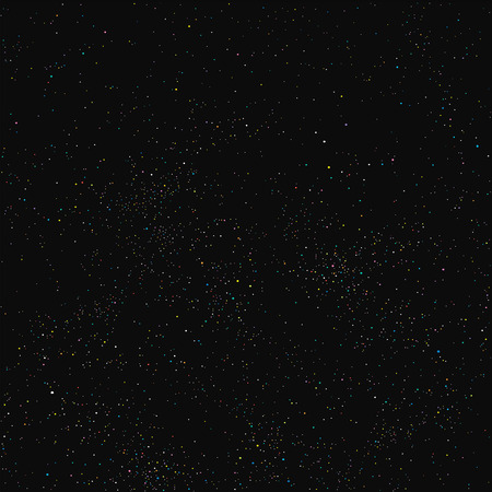 Night sky filled with stars