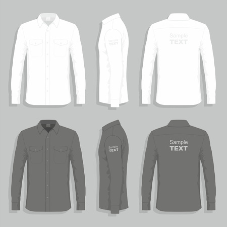button down shirt: Dress shirts