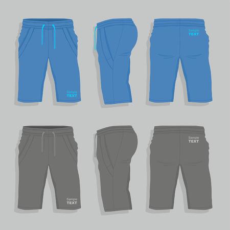 apparel part: Men sport shorts