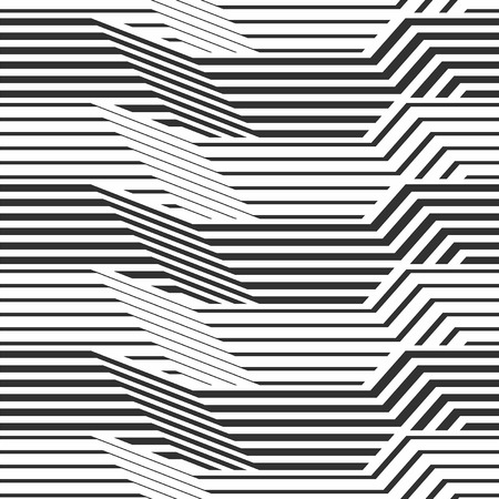 geometric pattern by stripes Illustration