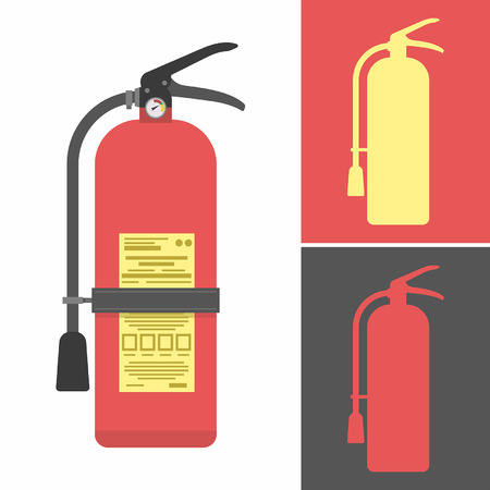 fire: Fire extinguisher Illustration