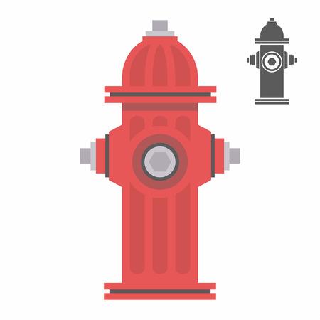 Roja boca de incendio