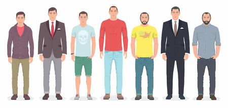 masculin: Grupo de hombres