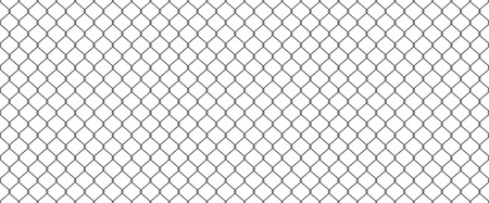 chainlink fence: Chainlink fence Illustration