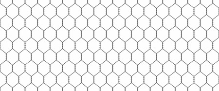 wire mesh: Chainlink fence Illustration