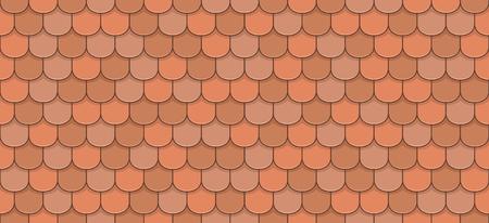 Tissu de toiles en orange sans couture.