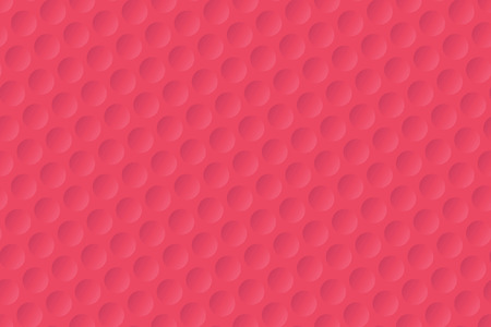 Red golf ball texture background Illustration