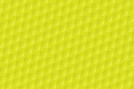 Yellow golf ball texture background Illustration