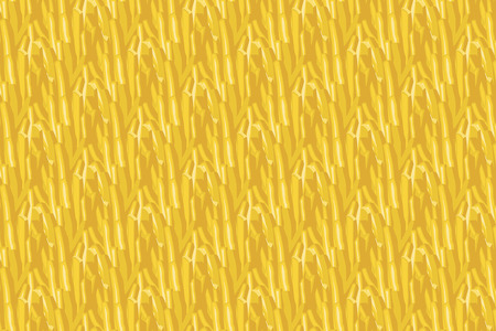 repeated: Group of French fries in a repeated seamless pattern background design