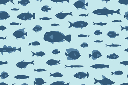 seamless pattern fishes