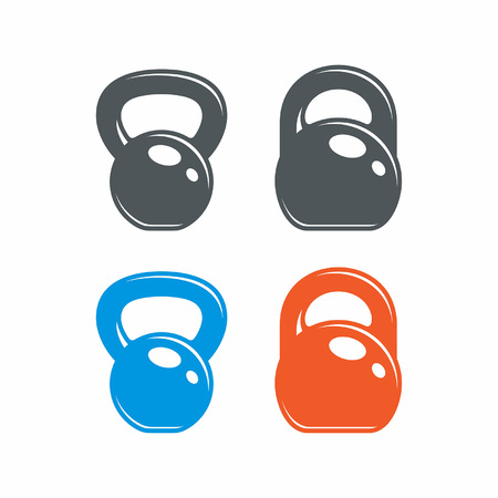 Dumbbell. Gym icon Illustration