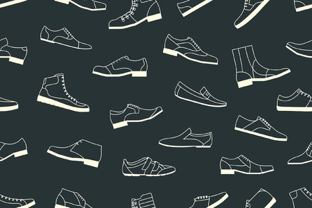 shoes seamless pattern