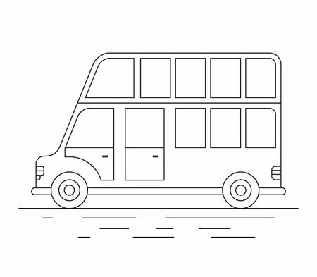London bus line icon.