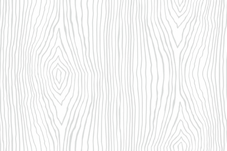 Naadloze patroon van witte houten textuur. Houtstructuur sjabloon Vector Illustratie