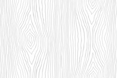 Nahtloses Muster der weißen Holzstruktur. Holz Textur Vorlage Vektorgrafik