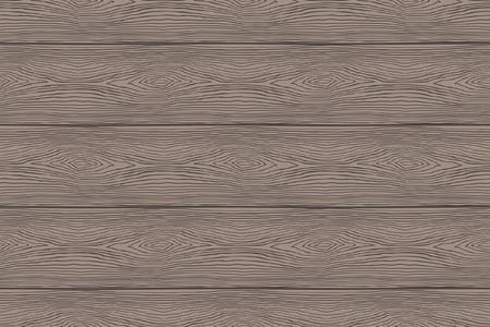 Seamless pattern of old Wooden boards. Wood texture template Vettoriali
