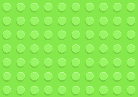Green plastic construction plate seamless pattern