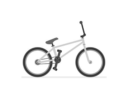 BMX Bike isolated on white background Illustration