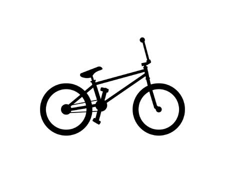 BMX Bike isolated on white background