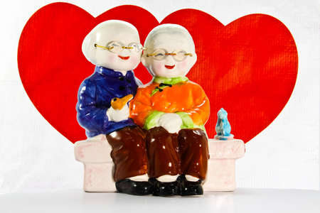 Old couple lives together with love. Stock Photo - 9016937