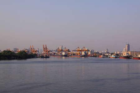 Thai sea port Stock Photo - 16531599