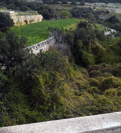 Maltese valley Banco de Imagens - 34371070