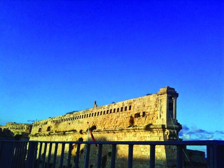 Maltese Fortress Wall